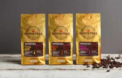 IMPORTERS COFFEE BAG PREVIEW