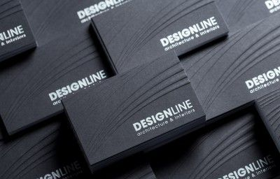 DESIGN LINE BUSINESS CARDS PREVIEW