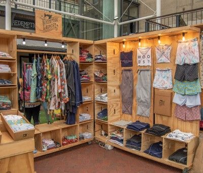 Neighbourgood Market Clothing Stall design